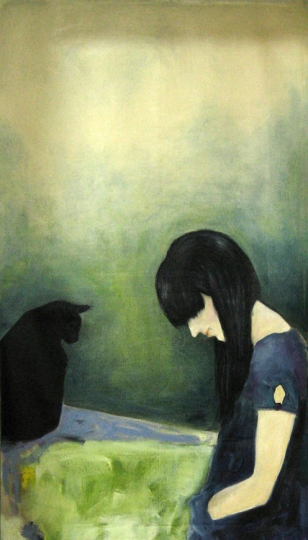 004 _ The Mourning after - Sharing solitude _ oil on canvas